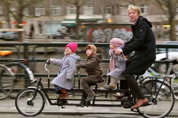 Familiesykkel