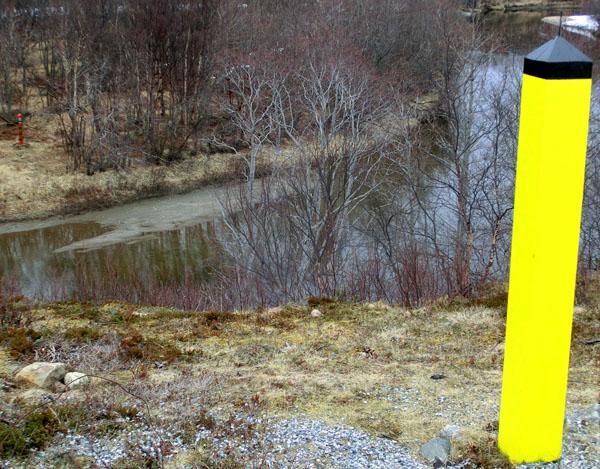 Grensen mellom Norge og Russland