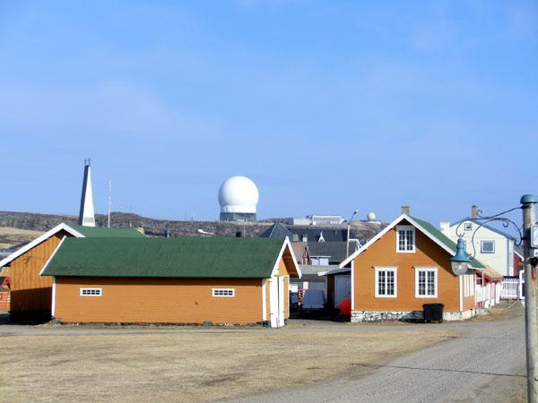 Globus II Radaren