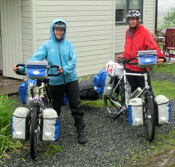Karina og Jan - To tyske syklister på sykkeltur jorden rundt