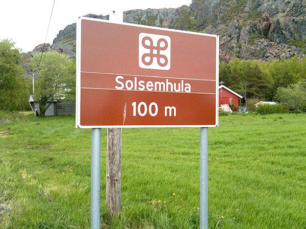Solsemhula er fysisk stengt og kan kun besøkes med guide.