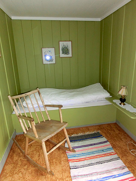 Hvis du vil ligge alene er dette kanskje rommet for deg.