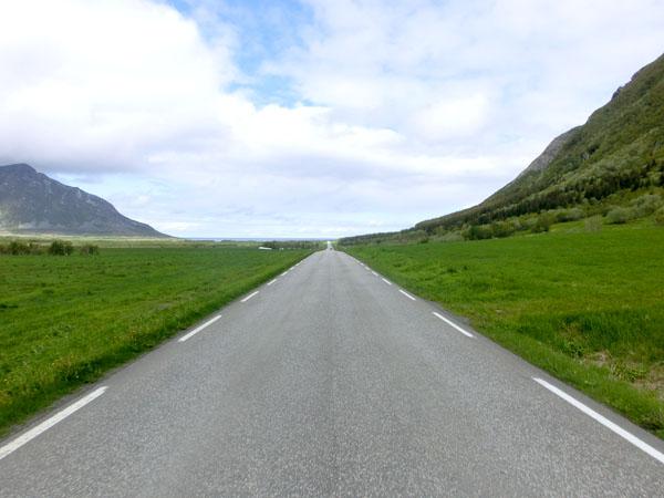 Veien fra Reipå til Storvik er flat og lettsyklet.