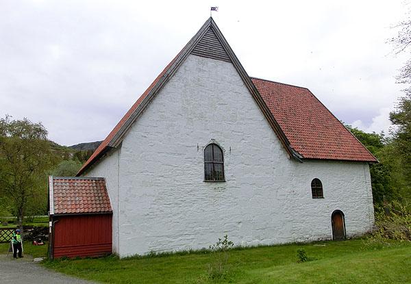 Gildeskål Gamle Kirke.