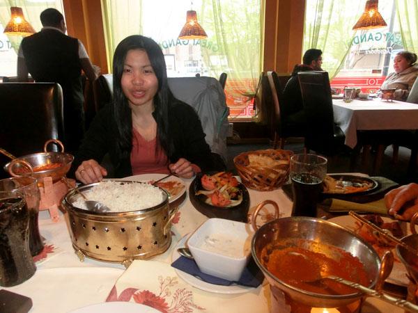 Great Gandhi Restaurant - Maten var god, men servicen kan de jobbe litt med.