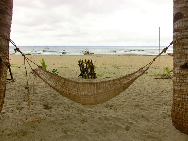 Det er også muligheter for å slappe av nede på stranda