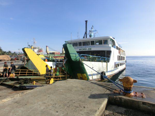 Fergen vi tok til Sequijor Island
