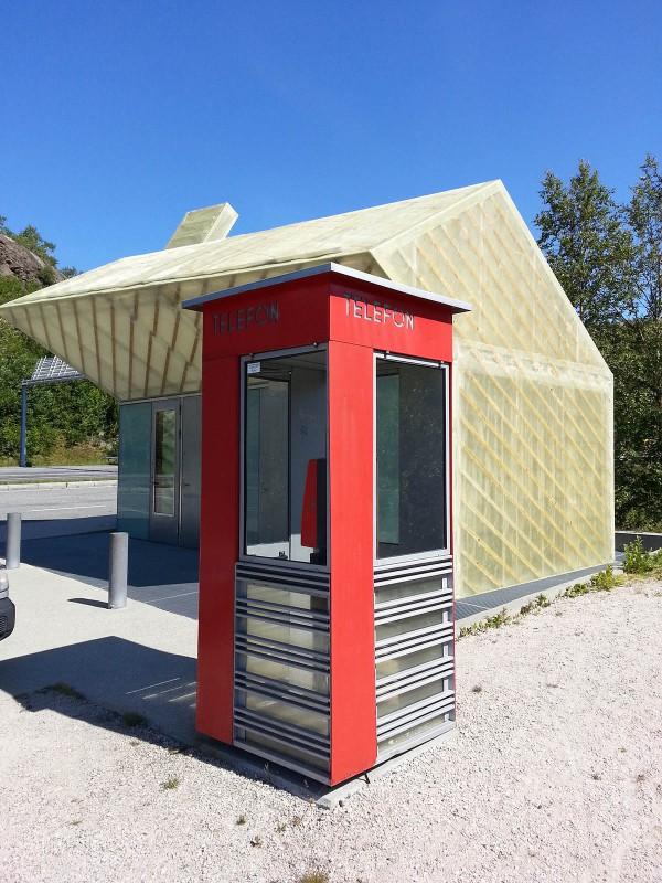 Ikke mange slike telefonkiosker igjen i Norge lenger