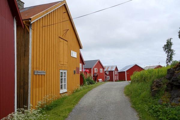 E-huset på Vega (det gule huset)