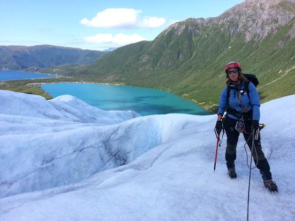 Alt skjer under kyndig og god veiledning av vår guide Annike Leune.