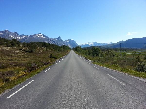 Flotte veier og et fantastisk landskap å sykle i