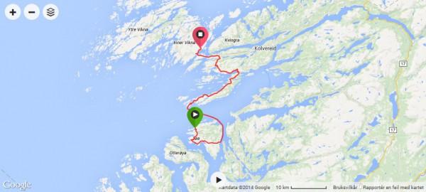 jøa - abelvær - rørvik