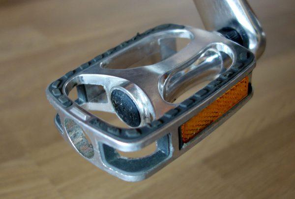 Jeg har byttet ut klikkpedalene med vanlige pedaler