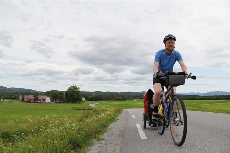 Sykkelopplevelser (Norge rundt sommeren 2016)