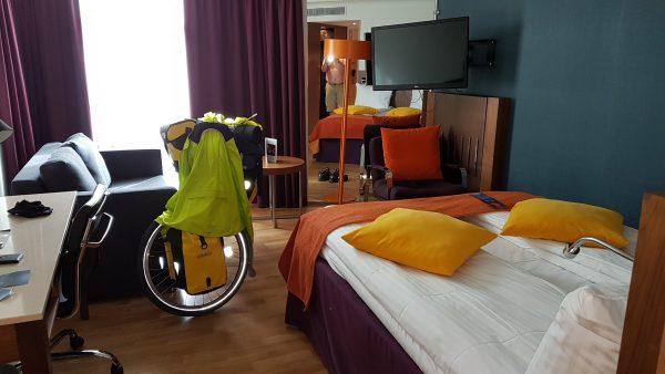 Royal Gården - et sykkelvennlig hotell