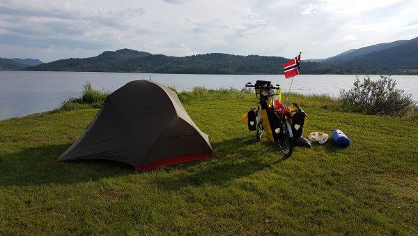Kveldens teltplass