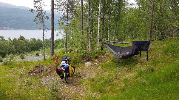 Stealth-camper rett ovenfor E39