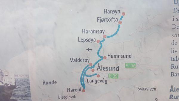 Rett fra Harøya til Ålesund eller øyhoppe på turen?