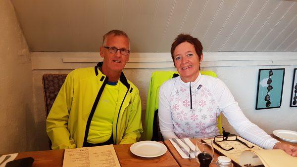 Traff på Bente Sporsheim Småge og Arild Småge i dag også. Vi spiste middag sammen før de dro videre.
