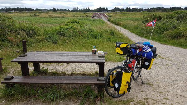 (13:49) Fra Sykkelrute 1 på vei nord mot Skagen.