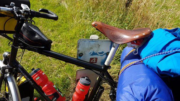 Jeg startet dagen med å følge Sykkelrute 4 ...