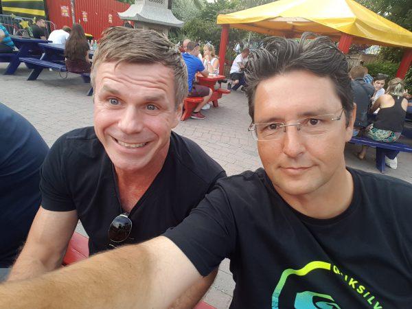 Sjekket ut Fristaden Christiania sammen med Roar Eriksen fra Levanger.