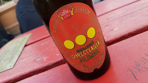 De har sitt eget ølmerke her - et økologisk øl.