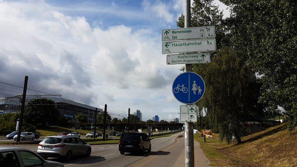 (09:46) Da har jeg kommet meg inn på sykkelruten til Berlin -