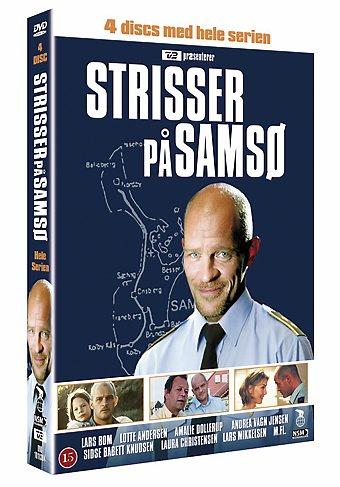 """Den populære TV-serien """"Strisser på Samsø"""" ble spilt inn på.... Taaadaaa (trommevirvel) Samsø :-) Den kan kjøpes på DVD hvis man har lyst til å se den."""