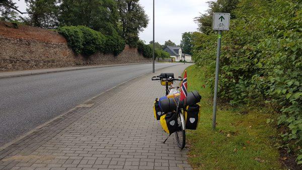(10:00) Da er jeg tilbake på sykkelruten.